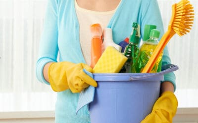 How to Clean Up from Spring Cleaning