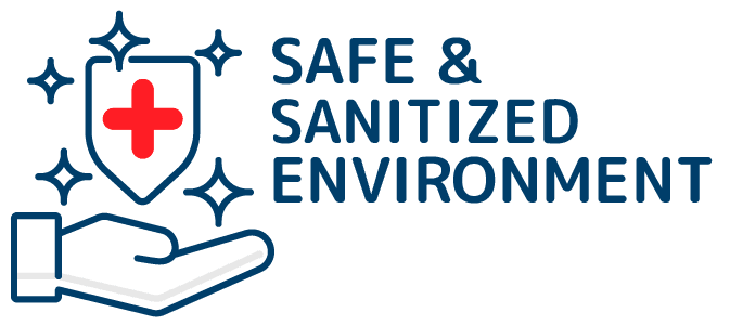 Safe & Sanitized Environment
