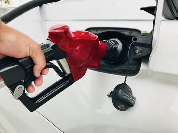 filling up